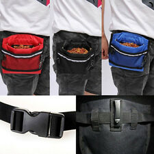 Likable Dog Pet Bait Waist Pouch Puppy Based Training Bag with Buckle Belt CA WB