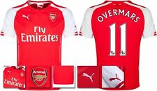 *14 / 15 - PUMA ; ARSENAL HOME SHIRT SS / OVERMARS 11 = SIZE*