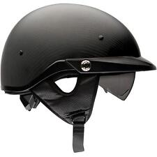 Bell Pit Boss Carbon Matte Black 1/2 Motorcycle Riding Helmet
