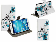 Lily Flowers Leather ID Wallet Flip W/Stand Case Cover For Various Smart Phones