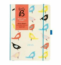 Busy B K Two Busy Life Diary 2015 Week Side By Side View Organiser