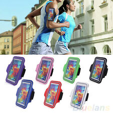 B82U Sport Running Flexible Armband Case Cover Pouch For Samsung Galaxy S5 i9600
