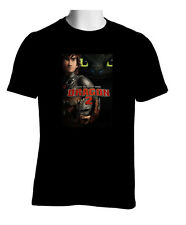 HOT NEW RARE HICCUP HOW TO TRAIN YOUR DRAGON 2 STO 5XL BLACK T-SHIRT