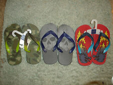 Gap Boys Thong Flip Flop Slides New With Tags NWT 3 pairs 1/2 Comfortable  Nice