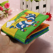 Portable Soft Cloth Baby Kid Intelligence Development Learn Picture Cognize Book