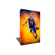 STEPH CURRY Golden State Warriors poster photo CANVAS ART PAINTING