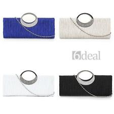 Women Handbag Shoulder Clutch Bag Purse Bling Rhinestone Evening Party