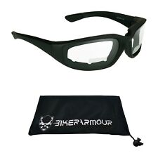 Z87 Bifocal Motorcycle Safety Glasses Goggles Clear Night Riding Dust Wind Proof