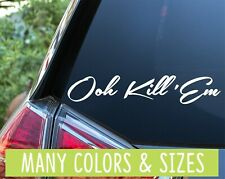 Ooh Kill 'Em Import JDM Decal Sticker KDM EURO
