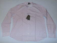 A|X Armani Exchange Men's Slim Fit Long Sleeve Button Down Shirt Pink NWT $88