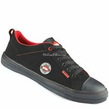 Safety Skater Style Lee Cooper Steel Toe Cap Plimsoll Shoe. Trainers Pumps