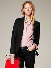 BANANA REPUBLIC WOMENS SLEEK SUIT  BLAZER COAT  $158.00 NEW 0 4 6 10 12 TALL