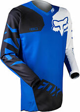 2015 Fox Racing Mens MX ATV Offroad Motocross 180 Race Jersey Blue