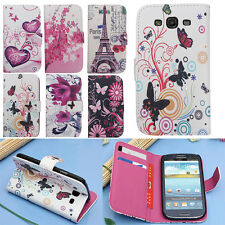 Cuir PU Portefeuille Support Housse Etui Coque Case Pour Samsung Galaxy S3 i9300