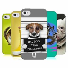 HEAD CASE FUNNY ANIMALS GEL BACK CASE COVER FOR APPLE iPHONE 4