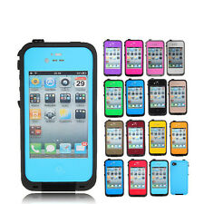 PC Waterproof Shockproof DirtProof Snow Proof Case Cover For Apple iphone 4 4s