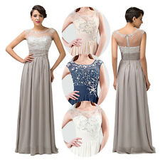 Top Sheer Sequins Prom Gown Bridesmaid Evening/Formal/Party/Cocktail/Prom Dress