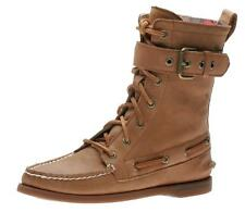 SPERRY STARPOINT BOOT TAN DISTRESSED 9293879