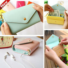 For Apple iPhone/Galaxy S/Smart Phone Case Card Coin Wallet Crown Smart Purse
