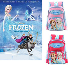 Disney Frozen Elsa & Anna Large Backpack w/detachable Insulated Lunch Bag