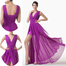 2014 CHEAP New Chiffon Sexy Long Prom Party Ball Bridesmaids Gown Evening Dress