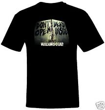 Don't Open Dead Inside - The Walking Dead T-Shirt in Men's/Women's/Youth Sizes