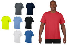 New Gildan Classic Fit Mens Adult Performance Short Sleeve Gym Workout T-Shirt