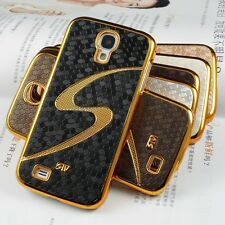GOLD SILVER BLING SAMSUNG GALAXY S4 HARD CASE LUXURY I9500 PROTECTIVE COVER SIV