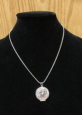 Aromatherapy locket / necklace diffuser for essential oils plus custom inserts!