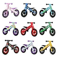 Nicko Wooden Balance Bikes - Running / Children / Training Bike Boys & Girls
