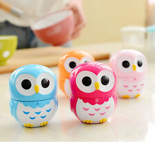 Owl Cute Owlet Kitchen Timer Mechanical 60 Minute Clock Bell Plastic Alarm Timer