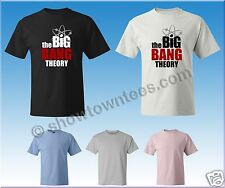 The Big Bang Theory Logo #1 T-Shirt Avail. in 5 Colors in Mens/Womens/Yth Sizes