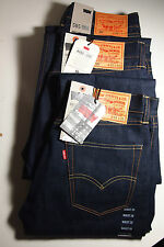 "Levi's ""Made in USA"" 505® STRAIGHT FIT Dark Indigo Selvedge Jeans No 501 Big E"