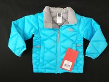 New The North Face Kids Toddler Girls Aconcagua Down Jacket Turquoise 3T