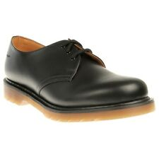 New Mens Dr. Martens Black 1461 Leather Shoes Modern Classics Lace Up