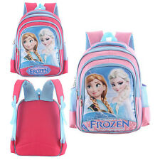 Children Kids Disney Frozen Backpack Anna Elsa Girls School Bag Rucksack