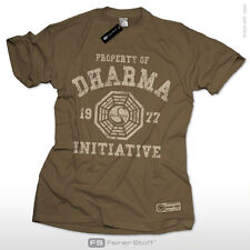 Property of Dharma Initiative T-Shirt Oceanic LOST Airlines Kult Fun Fan