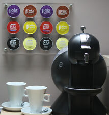 Nescafe/Krupps Dolce Gusto Coffee Capsule Pod Display Wall Holder