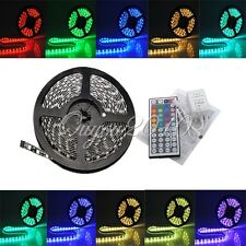 IP65 impermeabile strisce bobina led luce RGB 5m 300 led 5050 smd dc 12v 44 key