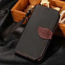 Luxury Leather Flip Card Wallet Case Cover For Samsung Galaxy Note II 2 N7100