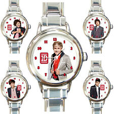 New [1D] [One Direction] Niall Horan & All Members Italian Charm Watch Bracelet