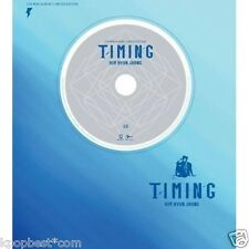 Kim Hyun Joong (SS501) - Timing (Limited Edition) CD + DVD + Poster + Gift Photo