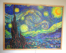 """Heater. InfraRed Radiant Electric heating Panel 500W. """"Starry night"""" Van Gogh."""