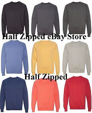 Hanes Nano Fleece Crewneck Sweatshirt N260 S-3XL 9 Colors!