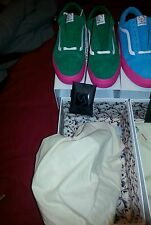 VANS OLD SKOOL SYNDICATE GOLF WANG ODD FUTURE Size 11 GREEN AND PINK
