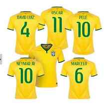 NEW NIKE BRAZIL WORLD CUP BRASIL 2014 PLAYERS SOCCER JERSEY SHIRT W/ PATCH