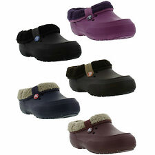 Crocs Blitzen 2 Clog Mens/Womens Fleece Slip On Clogs/Mules Shoes Sizes UK 4-12