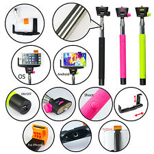Extendable Bluetooth Shutter Selfie Monopod Self-Portrait For iPhone & Android