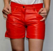 Short Leather Pants Costume From Bovine Nappa For Men's In 3 Colours Augsburg
