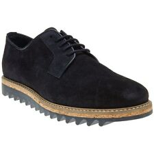 New Mens SOLE Blue Danube Suede Shoes Modern Classics Lace Up